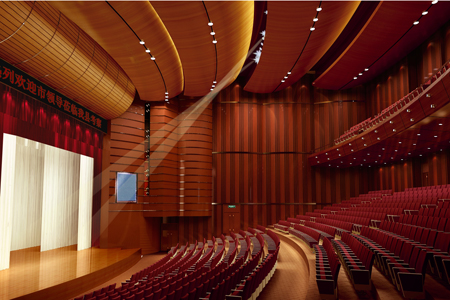 贝塔斯瑞承建威县影剧院扩声系统工程