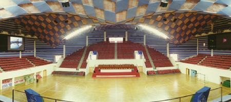 贝塔斯瑞承建黄山体育馆扩声系统工程