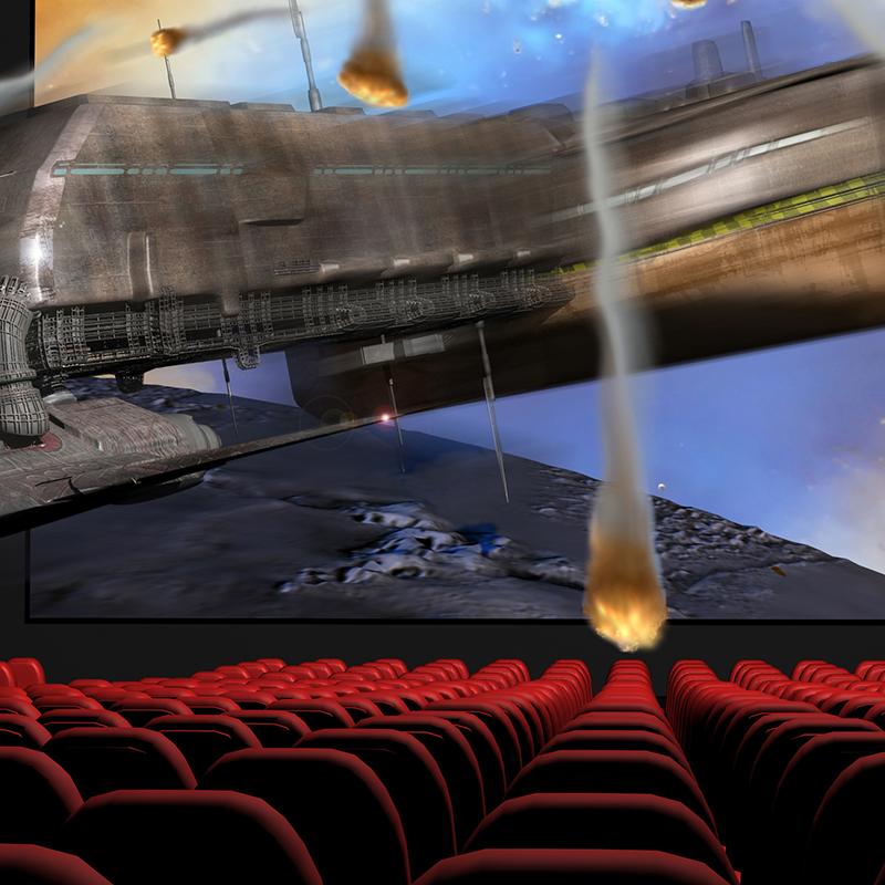DTS巨幕影厅还音系统