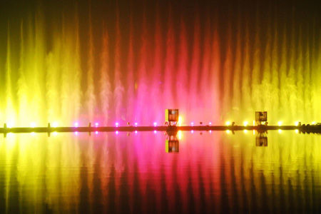 抚顺月亮湾音乐喷泉