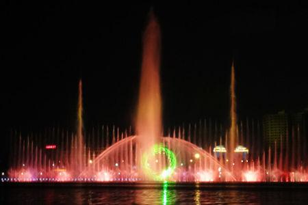 贝塔斯瑞助阵骆马湖音乐喷泉成功挑战吉尼斯世界纪录