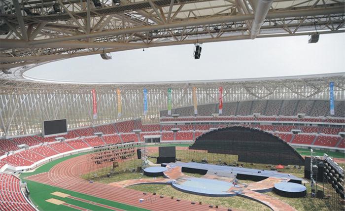 惠州市中心体育场
