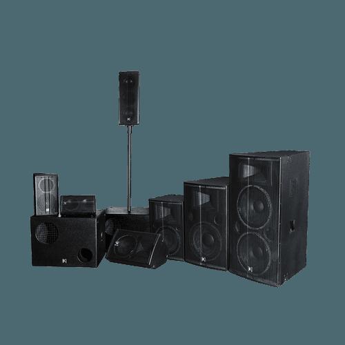ΣS专业工程安装扬声器系列