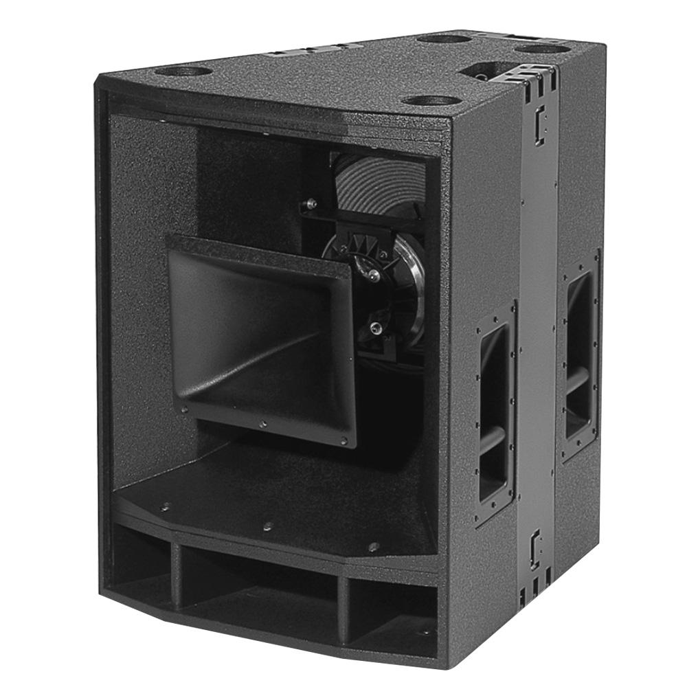 内置/外置3分频15英寸同轴全频扬声器系统
