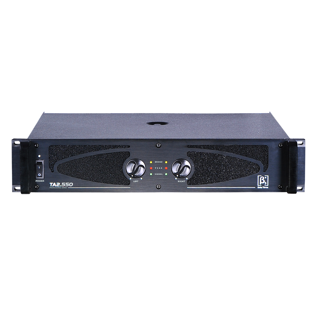 专业音频功率放大器