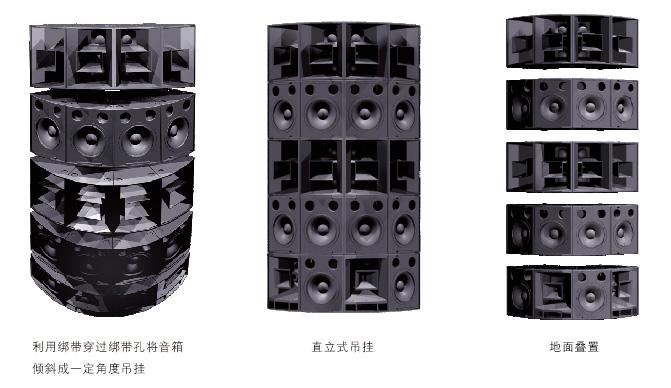 18英寸低频扬声器系统安装图